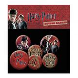Harry Potter Button Badge Set 6 Piece Lapel Pin Gift Set