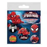 Spider-Man Button Badge Gift Set