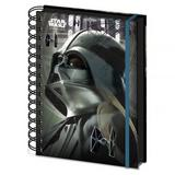 Star Wars Rogue One A5 Notebook Darth Vader
