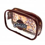Cleveland Cavaliers Clear Pencil Case With Strong Zip