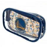 Golden State Warriors Clear Pencil Case With Strong Zip