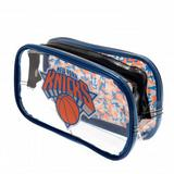 New York Knicks Clear Pencil Case With Strong Zip