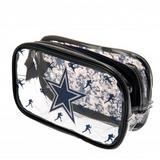 Dallas Cowboys Clear Pencil Case With Strong Zip