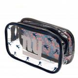 New York Giants Clear Pencil Case With Strong Zip