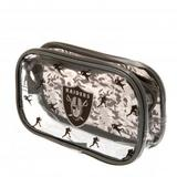 Oakland Raiders Clear Pencil Case With Strong Zip