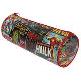 Marvel Comics Comic Book Barrel Pencil Case Stationary Gift CM