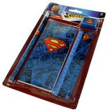 Superman 4 Piece Stationary Gift Set