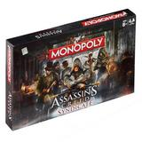 Assassins Creed Syndicate Edition Monopoly Family Board Game