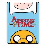 Adventure Time Soft Fleece Blanket Throw