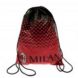 AC Milan Drawstring Gym Bag Swimming School Backpack