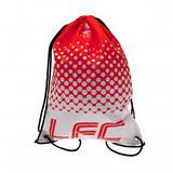 Liverpool Fc Drawstring Gym Bag Sports Swimming School Holdall