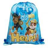 Paw Patrol Drawstring Swimming School Bag Rucksack