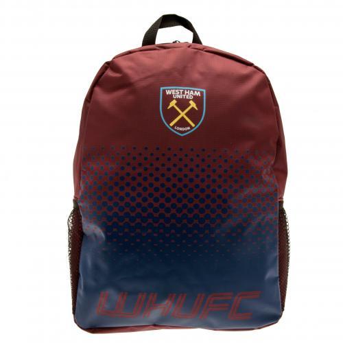 f6fc554026 Sentinel West Ham United Utd Fc Backpack School Bag Rucksack Holdall.  Sentinel Thumbnail 2