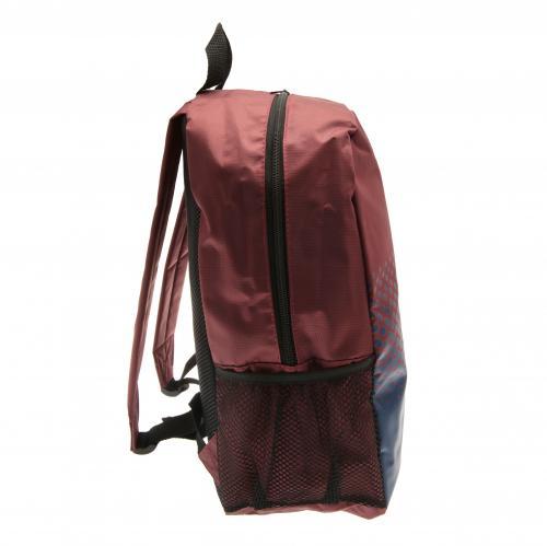 3f06ec5b12 Sentinel West Ham United Utd Fc Backpack School Bag Rucksack Holdall.  Sentinel Thumbnail 3