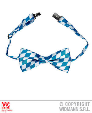 Adjustable Satin Bavarian Bow Tie Oktoberfest Fancy Dress Costume Accessory