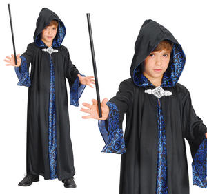 Childrens Wizard Robe Fancy Dress Potter Book Week Outfit 3-13 Yrs