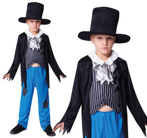 Childrens Urchin Artful Dodger Fancy Dress Costume Outfit Childs Kids 3-10 Yrs