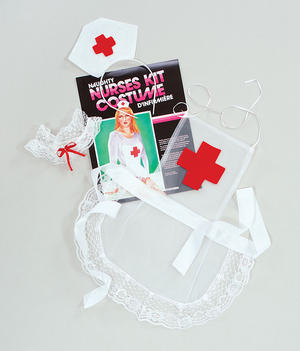 Sexy Nurse Fancy Dress Costume Kit Set - Tarts & Vicars Doctors & Nurses Party