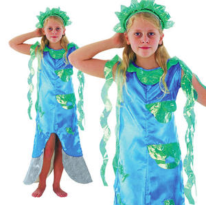 Childrens Kids Little Mermaid Fancy Dress Costume Outfit Book Week 3-10 Yrs