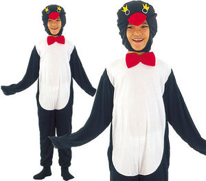 Childrens Kids Penguin Fancy Dress Costume Pingu Happy Feet Childs 3-10 Yrs