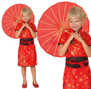 Childrens Kids Chinese Girl Fancy Dress Costume Oriental Childs Outfit 3-10 Yrs