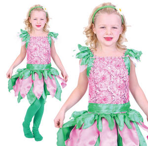 Childrens Kids Fairy Tinkerbell Pixie Fancy Dress Costume Outfit Girls 3-10 Yrs