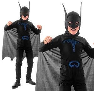 Childrens Kids Batman Fancy Dress Costume Halloween Book Week Outift 3-10 Yrs