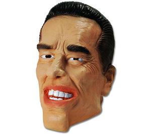 Arnie The Terminator Rubber Face Head Mask Celebrity Fancy Dress