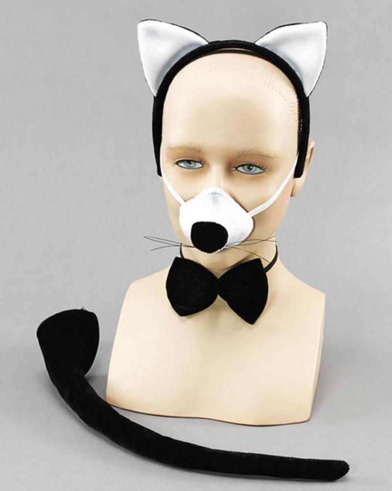 Deluxe Cat Set Fancy Dress Kit With Sound!! Halloween