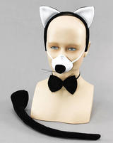 Deluxe Cat Set Fancy Dress Kit With Sound!! Halloween