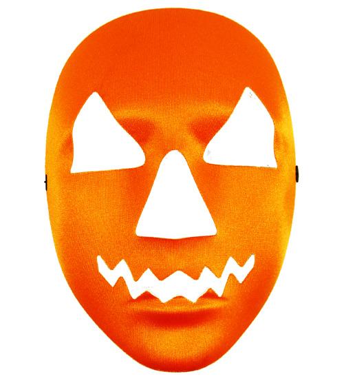 Pumpkin Face Mask Halloween Fancy Dress