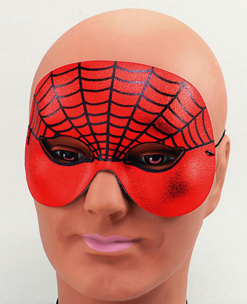 Spiderman Half Face Eye Mask Halloween Fancy Dress