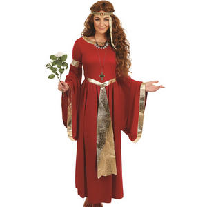 Ladies Renaissance Fancy Dress Costume Game Of Thrones Queen UK 8-26 UK 8-30