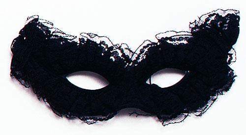 Black Lace Eye Mask Venetian Masquerade Ball Fancy Dress