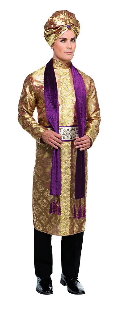 Mens Bollywood Man Fancy Dress Costume Indian Outfit - Up To Chest 44""
