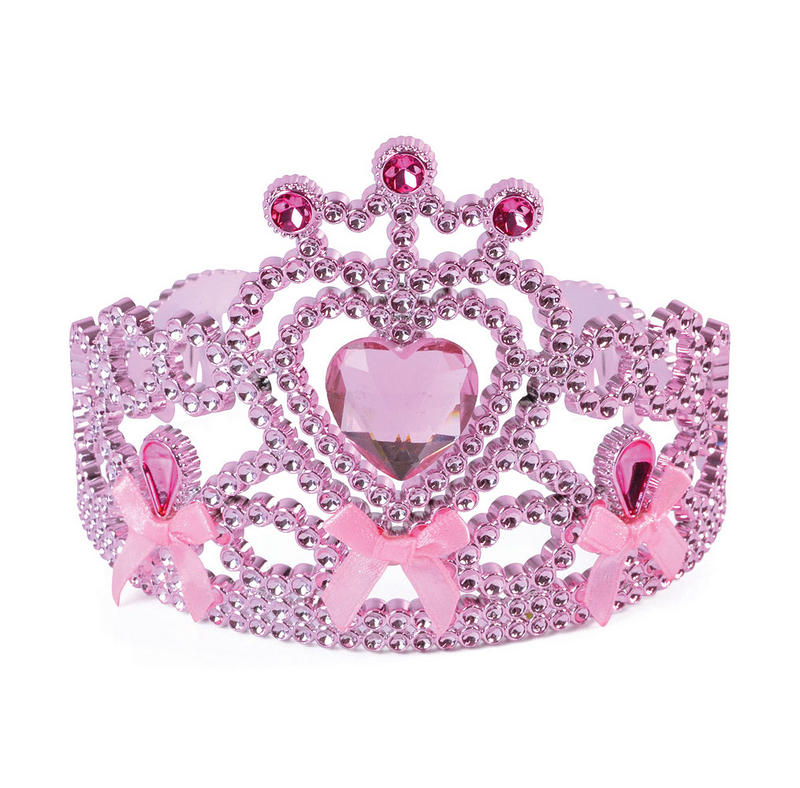 Gorgeous Pink Tiara Crown With Gem Detail For Princess Fancy Dress Costume