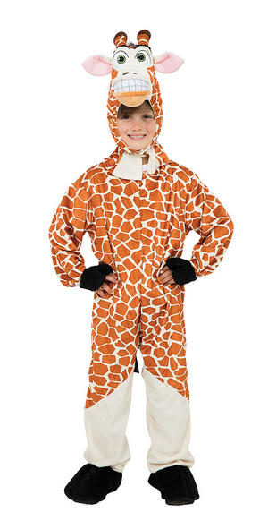 Childrens Giraffe Animal Fancy Dress Costume Kids Boys Girls Childs 128cm Tall