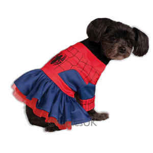 Rubies Spidergirl Fancy Dress Costume Outfit Dog Spiderman Pet Animal Xs To L