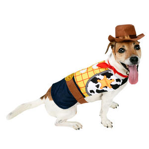 Pet Dog Woody Costume Fancy Dress Costume Outfit Rubies TOY STORY DISNEY