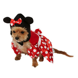 Pet Dog Puppy Minnie Mouse Pet Costume Fancy Dress Costume Outfit Rubies Disney