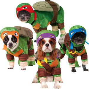 Pet Dog Teenage Mutant Ninja Turtles Fancy Dress Costume Outfit Clothing Tmnt