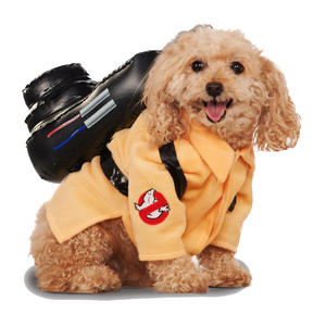 Ghostbusters Jumpsuit Pet Fancy Dress Costume Outfit Dog Pet Animal S To XL