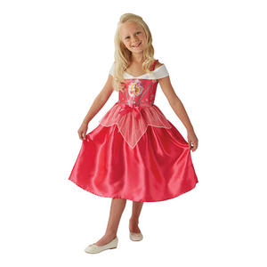 Childrens Disney Princess Sleeping Beauty Fancy Dress Costume Girls Outfit 3-10