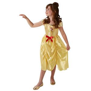 Childrens Disney Princess Belle Fancy Dress Costume Girls Kids Outfit 3-10 Yrs