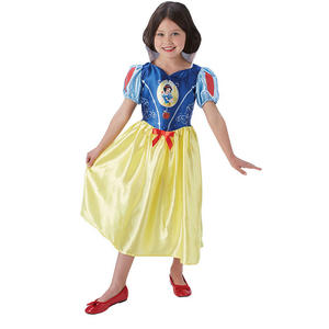 Girls Kids Childs Fairytale Snow White Fancy Dress Costume Outfit BOOK WEEK