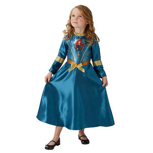 Childrens Disney Princess Merida Fancy Dress Costume Girls Kids Outfit 3-10 Yrs