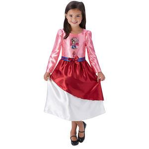 Childrens Disney Princess Mulan Fancy Dress Costume Girls Kids Outfit 3-10 Yrs