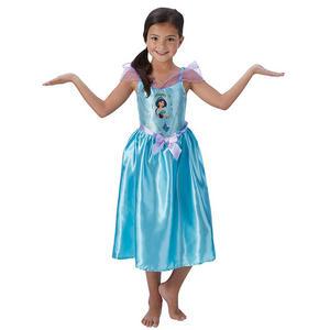 Childrens Disney Princess Jasmine Fancy Dress Costume Girls Kids Outfit 3-10 Yrs
