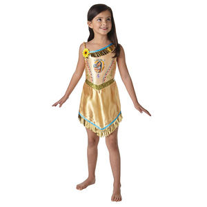 Childrens Disney Pochontas Fancy Dress Costume Girls Kids Outfit 3-10 Yrs