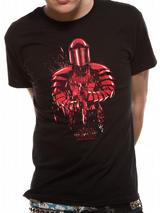 Black Star Wars 8 The Last Jedi Praetorian Guard Mens T-Shirt Top 2XL
